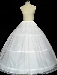 abordables -Mariée Classic Lolita Années 50 Robe Jupon Crinoline Femme Fille Tulle Costume Blanche Vintage Cosplay Mariage Soirée Princesse