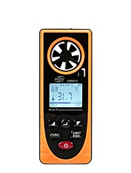 cheap -GM8910 Multi-functional digital anemometer Air velocity temperature Humidity Wind chill Dew point barometric pressure tester