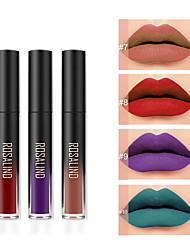 abordables -1 pcs Une Couleur Maquillage Quotidien Lèvres Lueur Couleur Pleine Mode Maquillage Cosmétique Usage quotidien Accessoires de Toilettage