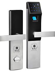 cheap -HOLISHI® D3210F Smart Lock Combination Lock Fingerprint Lock Smart Home Security System Suit for Left Door Right Door