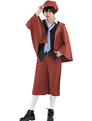 cheap -Inspired by Bungo Stray Dogs Cookie Anime Anime Cosplay Costumes Japanese Cosplay Suits Anime Long Sleeve Vest Shirt Pants For Unisex / Shawl / Socks / Cap / Tie / Shawl