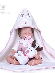 cheap -NPKCOLLECTION Reborn Doll Baby Girl 20 inch Gift Hand Made New Design Kid's Unisex Toy Gift