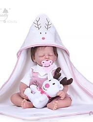 Недорогие -NPKCOLLECTION 20 дюймовый Куклы реборн Девочки Подарок Ручная работа Новый дизайн с одеждой и аксессуарами на день рождения и праздничные подарки для девочек
