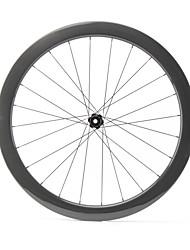 cheap -FARSPORTS 700CC Wheelsets Cycling 25 mm Road Bike 100% Carbon Fiber Tubeless Spokes 50 mm