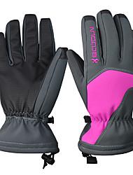 cheap -Ski Gloves Women's Snowsports Full Finger Gloves Winter PU(Polyurethane) Snowsports Winter Sports