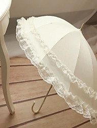 cheap -Umbrellas Terylene Lace Wedding
