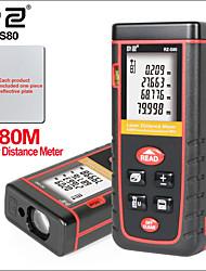 Недорогие -лазерный цифровой дальномер мини портативный дальномер лазерный дальномер rz-s80