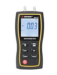 Недорогие -Sndway манометр манометр высокой точности ручной цифровой дифференциальный измеритель давления природного газа SW-512