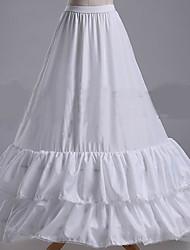 cheap -Bride Classic Lolita 1950s Dress Petticoat Hoop Skirt Crinoline Women's Girls' Costume White Vintage Cosplay Wedding Party Princess