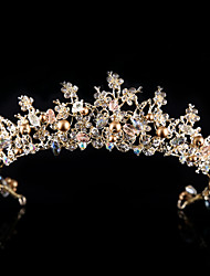 cheap -Decorations / Unsented Hair Accessories Crystal Wigs Accessories Women's 1 pcs pcs # cm School / Quinceañera & Sweet Sixteen / Birthday Party Crystal / Headpieces / Diamond / Rhinestone Decorated Case