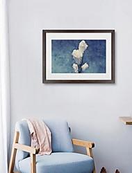cheap -Framed Oil Painting - Botanical Acrylic Oil Painting Wall Art