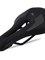 cheap -WEST BIKING® Bike Saddle / Bike Seat Waterproof Wearproof High Elasticity Professional PU Leather Silica Gel Steel Cycling Road Bike Mountain Bike MTB Recreational Cycling Black / White Black / Red