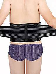 cheap -Lumbar Belt / Lower Back Support for Running Fitness Adjustable Length Portable Protection Other Material 2pcs Sports & Outdoor Black
