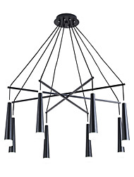 cheap -ZHISHU 8-Light 80 cm Chandelier Metal Sputnik / Industrial Painted Finishes Contemporary / Chic & Modern 110-120V / 220-240V