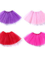 cheap -Ballet Tutu Bubble Skirt Under Skirt 1950s Layered Red Pink Fuchsia Petticoat / Kid's / Crinoline