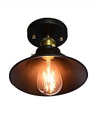 cheap -1-Light 22 cm Flush Mount Lights Metal Painted Finishes Country 110-120V / 220-240V