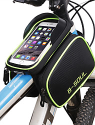 cheap -Cell Phone Bag Bike Frame Bag Top Tube 6.2 inch Touch Screen Cycling for Cycling Blue Red Green Cycling / Bike Bike / Cycling