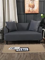 Недорогие -чистый цвет пыленепроницаемый всесильный чехлы из эластичного чехла для дивана супер мягкий чехол из ткани с одной бесплатной наволочкой