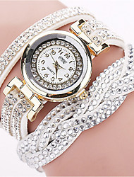 cheap -Women's Quartz Watches Analog Quartz Bracelet Watch Diamond Casual Watch / One Year / Stainless Steel / Stainless Steel