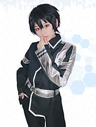 cheap -Inspired by SAO Swords Art Online SAO Alicization Kirigaya Kazuto Anime Cosplay Costumes Japanese Cosplay Suits Anime Long Sleeve Top Pants Waist Belt For Unisex
