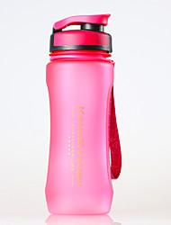Недорогие -Бутылки для воды 600 ml PP С защитным покрытием Прочный Ультралегкий (UL) для Пешеходный туризм Велосипедный спорт / Велоспорт Походы Зеленый Серый Синий Розовый
