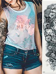 Недорогие -3 pcs Временные татуировки Экологичные / Одноразового использования Корпус / плечо / назад Картон