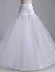 cheap -Bride Classic Lolita 1950s Dress Petticoat Hoop Skirt Crinoline Women's Girls' Tulle Costume Black / White Vintage Cosplay Wedding Party Princess