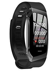 Недорогие -E18 Smart Watch BT 4.0 фитнес-трекер поддержка уведомлений и пульсометр водонепроницаемый браслет для Samsung / Huawei / Iphone