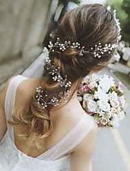 cheap -Rhinestone Head Chain with Crystal / Rhinestone 1 pc Wedding Headpiece