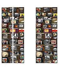 abordables -Autocollants de porte - Autocollants muraux 3D Abstrait / Célèbre Salle de séjour / Chambre à coucher