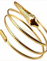 cheap -Women's Bracelet Bangles Classic Snake Classic Vintage Fashion Elegant Alloy Bracelet Jewelry Gold / Silver For Graduation Daily Carnival Club Festival