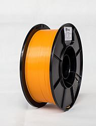 Недорогие -Simax 3D принтер нити плашки 1,75 мм 1 кг-оранжевый