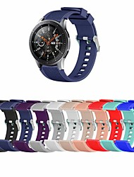 cheap -Smart Watch Band for Samsung Galaxy 1 pcs Sport Band Silicone Replacement  Wrist Strap for Samsung Galaxy Watch 46mm Samsung Galaxy Watch 42mm 42mm 46mm