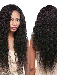 cheap -6 Bundles Brazilian Hair Water Wave 100% Remy Hair Weave Bundles Natural Color Hair Weaves / Hair Bulk Bundle Hair One Pack Solution 8-28inch Natural Color Human Hair Weaves Odor Free Fashionable