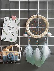 cheap -Handmade Dream Catchers Bamboo Strip Pendant Wall Hanging Home Decoration