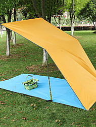 cheap -Sleeping Pad Tent Tarps Outdoor Camping Ultra Light (UL) Thick 220*300 cm Camping / Hiking Camping for All Seasons Sky Blue Green Blue