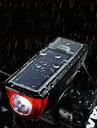 Недорогие -Велосипедные фары Передняя фара для велосипеда Велосипедный рог Фары для велосипеда Горные велосипеды Велоспорт Велоспорт Водонепроницаемый Супер яркий Безопасность Портативные USB 150 lm