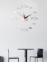 cheap -Wall Clock,European Acrylic Plastic Irregular Indoor