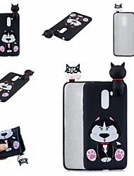 Недорогие -Кейс для Назначение Xiaomi Xiaomi Redmi Note 5 Pro / Xiaomi Redmi Note 6 / Xiaomi Pocophone F1 С узором Кейс на заднюю панель С собакой / Мультипликация Мягкий ТПУ / Xiaomi Redmi Note 4X