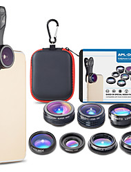 cheap -Mobile Phone Lens Lens with Filter / Fish-Eye Lens / Long Focal Lens Glasses / Aluminium Alloy 2X 30 mm 15 m 198 ° Cute / Cool