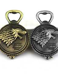 cheap -Game of Thrones House Stark of Winterfell Totem Bag / Phone / Keychain Charm Creative Metal Universal