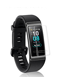 cheap -Screen Protector For Huawei Honor Band 3 PET High Definition (HD) / Mirror / Ultra Thin 1 pc