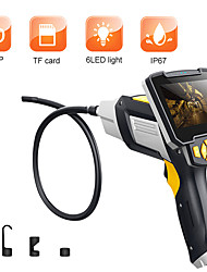 cheap -digital industrial endoscope 4.3 inch lcd 10m length borescope videoscope with cmos sensor semi-rigid inspection camera handheld endoscope