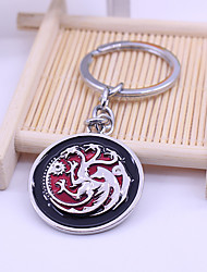 cheap -Game of Thrones House Targaryen Totem Bag / Phone / Keychain Charm Cute / Creative Metal Universal