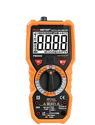cheap -Digital Multimeter PEAKMETER PM890D True RMS AC/DC Voltage Resistance Meter PM890D Capacitance Frequency Temperature NCV Tester