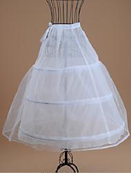 cheap -Bride Classic Lolita 1950s Dress Petticoat Hoop Skirt Crinoline Women's Girls' Tulle Costume White Vintage Cosplay Wedding Party Princess