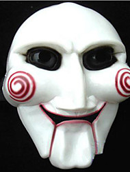 cheap -Cosplay Costume Mask Halloween Mask Inspired by V for Vendetta White Cosplay Halloween Halloween Carnival Masquerade Adults' Men's Women's
