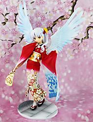 cheap -Anime Action Figures Inspired by Angel Beats Kanade Tachibana PVC(PolyVinyl Chloride) 19 cm CM Model Toys Doll Toy
