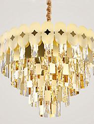 cheap -12 Bulbs QIHengZhaoMing 60 cm Chandelier Metal Painted Finishes Traditional / Classic 110-120V / 220-240V