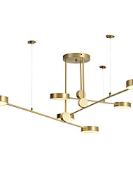cheap -ZHISHU 6-Light 146 cm Chandelier Copper Sputnik / Industrial Brass Contemporary / Chic & Modern 110-120V / 220-240V